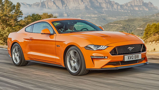 The new Mustang has been given a 3-star safety rating by ANCAP