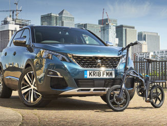 The new Peugeot 5008 SUV and eF01 Electric Bike