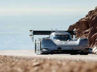VW has set a new record at the Pikes Peak hill climb