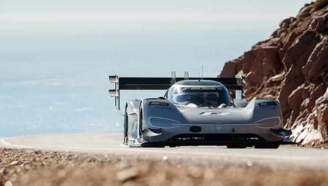 VW has set a new record at the Pikes Peak hill climb