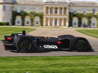 The autonomous Robocar will take on the hill climb at the Goodwood Festival of Speed