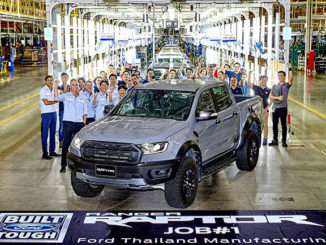 The first Ford Ranger Raptor has rolled off the production line