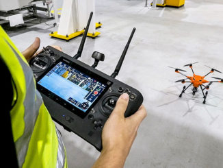 Ford are using drones for inspection work at their Dagenham, UK, factory