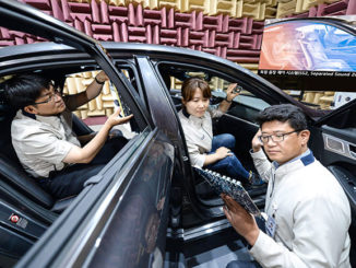Kia Motors has revealed for its next-generation Separated Sound Zone technology