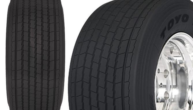 Toyo's Nanoenergy M175 long haul trailer tyre