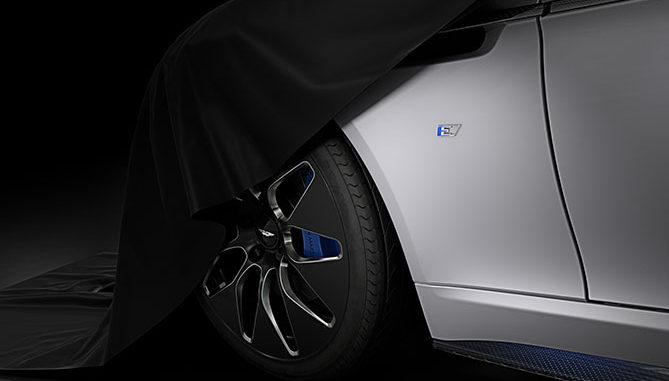 Aston Martin's Rapide E will run on Pirelli tyres