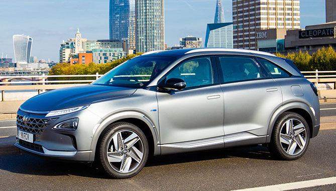 The new Hyundai Nexo