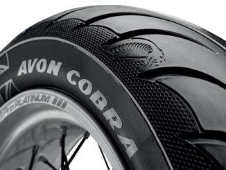 Avon Tyres has launched its new Cobra Chrome cruising tourer tyre range