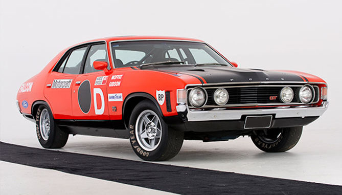 A Ford Falcon GTHO Phase IV has achieved $2 million at auction