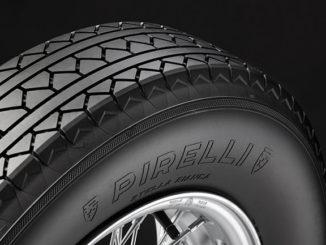 Pirelli's reborn Stella Bianca tyre for classic cars