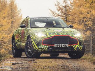 Aston Martin's DBX prototype