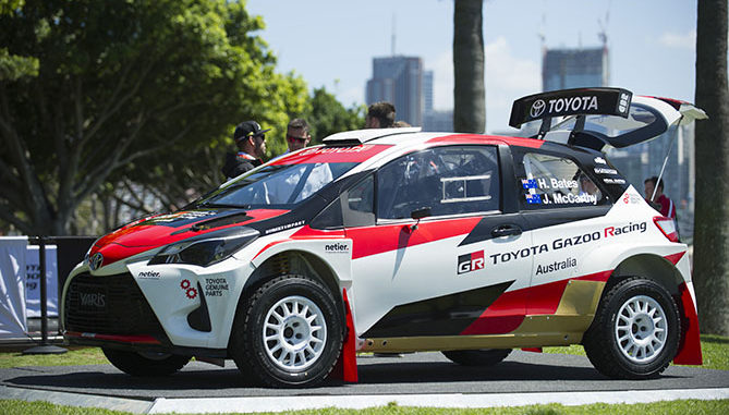 Toyota Australia has formed a factory-backed Toyota Gazoo Racing Australia rally team