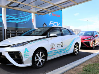 Toyota Mirai fuel cell vehicles are being trialled in Melbourne