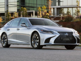 Lexus has introduced advanced safety equipment in its flagship LS sedan