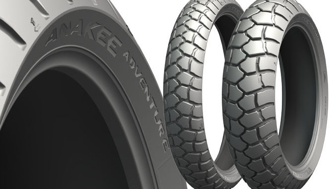 The new Michelin Anakee Adventure will be commercially available in Australia from January 2019