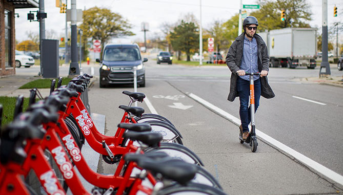 Ford Smart Mobility has acquires Spin, a San Francisco-based electric scooter-sharing company that provides customers an alternative for first- and last-mile transportation