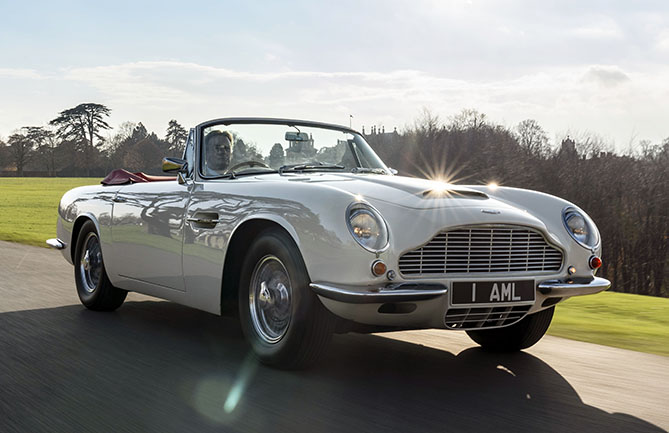 Aston Martin is creating an EV conversion system for its classic cars