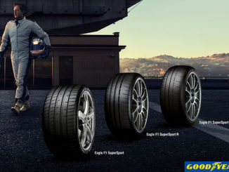 Goodyear in Europe has announced a new range of three Ultra Ultra High Performance (UUHP) tyres, branded Eagle F1 SuperSport, SuperSport R and SuperSport RS
