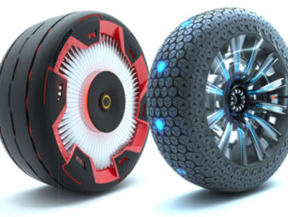 Hankook's concept tyres, the Aeroflow and Hexonic
