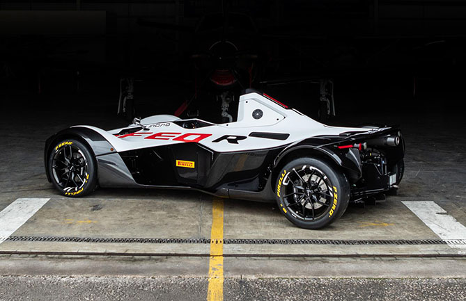 Pirelli is the official tyre partner of BAC, makers of the Mono single-seat, road-legal supercar
