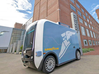 Goodyear has teamed with US company Local Motors to conduct tyre testing on Local's autonomous shuttle.