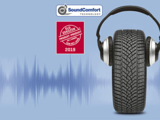 Goodyear SoundComfort technology has been voted Product of the Year 2019 by consumers in Belgium and the Netherlands