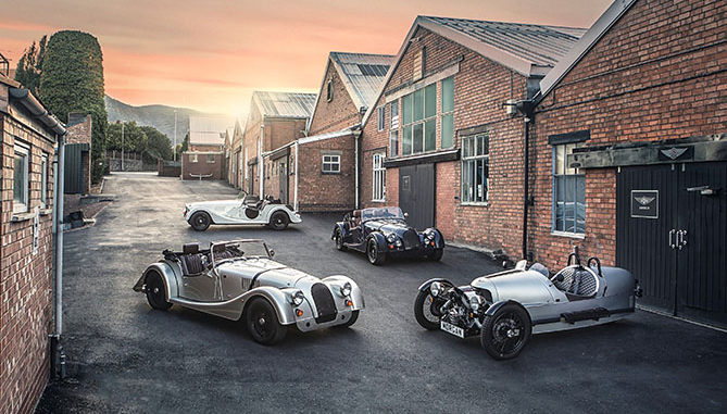 European investment group Investindustrial has taken a majority stake in Morgan Motor Company