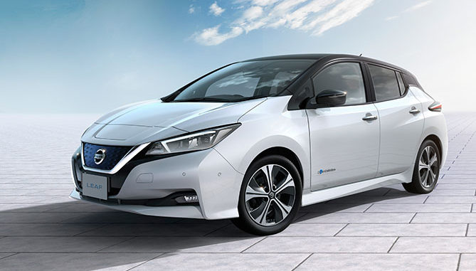 Nissan has recorded 400,000 sales of its Leaf EV