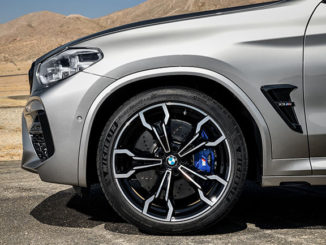 Michelin tyre BMW