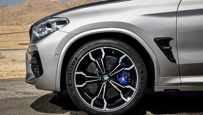Michelin tyre BMW