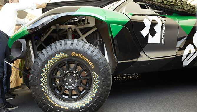 Continental tyres Extreme E
