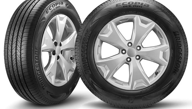 Bridgestone has launched the Ecopia H/L 001 low-rolling resistance tyre for SUVs