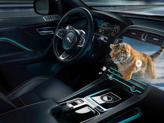 Jaguar Land Rover is developing an immersive 3D in-car experience