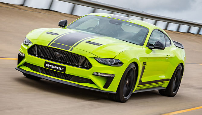 The supercharged Ford Mustang R-SPEC