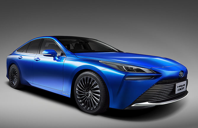 Toyota's second-gen Mirai