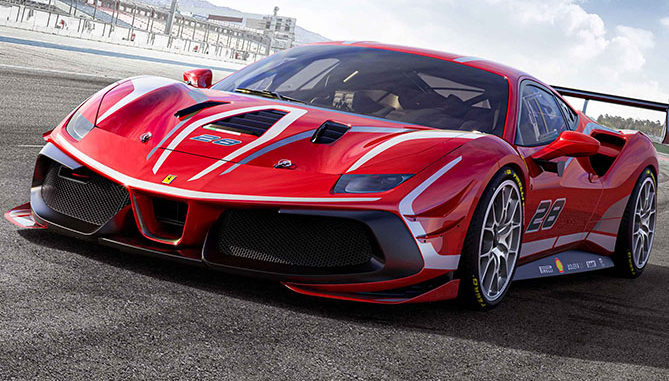 Pirelli's P Zero DHA tyre will equip the new Ferrari 488 Evo