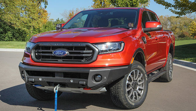 Ford Performance and ARB 4x4 Accessories are teaming up to develop components for Ford off-road enthusiasts. The all-new winch-capable front bumper for Ford Ranger is the first component from the collaboration.