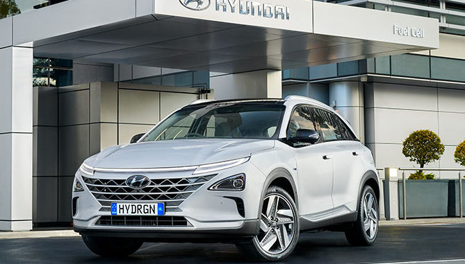 The Hyundai Nexo Hydrogen Fuel Cell Vehicle