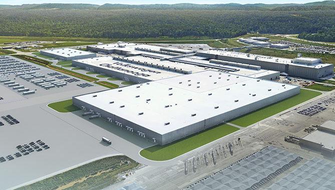 VW Chattanooga plant