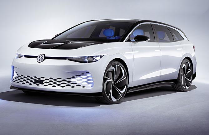 VW's ID. Space Vizzion Concept