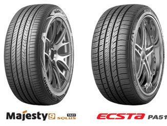 Kumho Majesty 9 Solus TA91 and ECSTA PA51