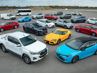 Toyota was the new car sales leader in Australia in 2019