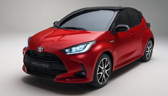 The new Toyota Yaris hybrid