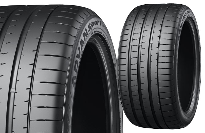 """ADVAN Sport V107"""" size 325/35ZR22 114Y rear tyre that will come as OE on new GLE 53 cars"""