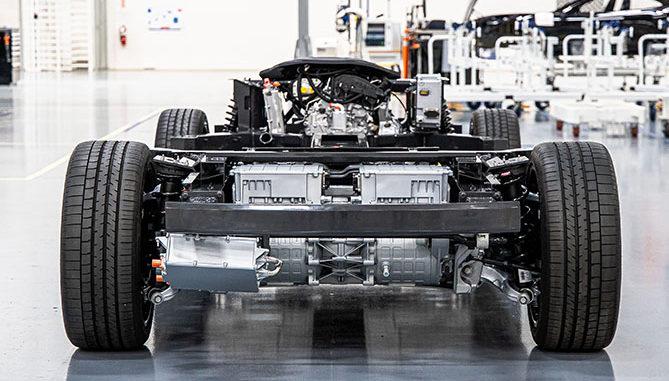 Karma Automotive E-Flex platform
