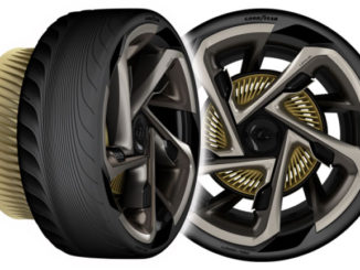 Goodyear's concept tyres for the Lexus LF-30 EV