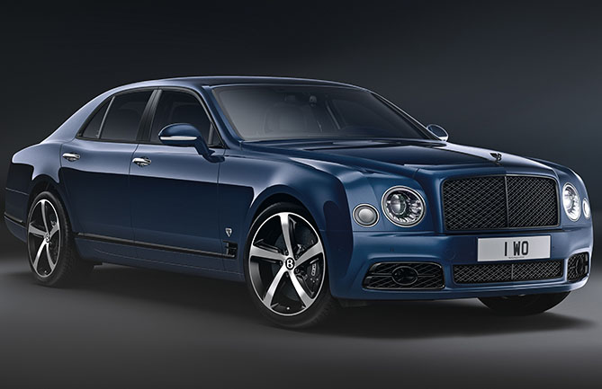 The Mulsanne 6.75 Edition by Mulliner
