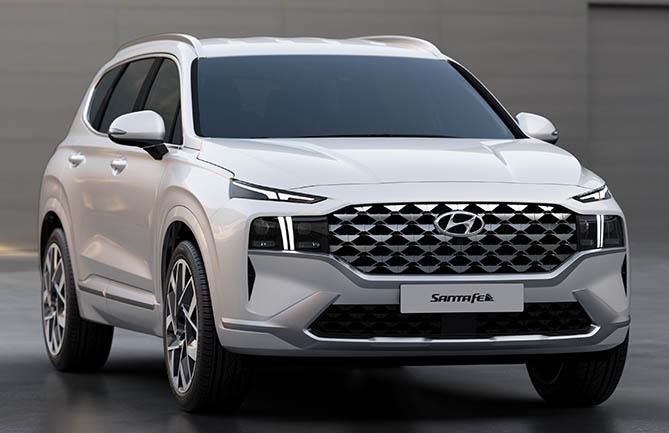 New-look Hyundai Santa Fe