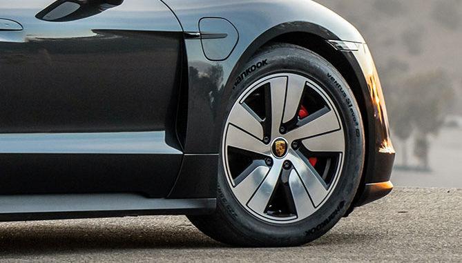 Hankook on the Porsche Taycan