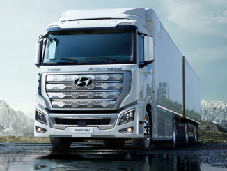 Hyundai's Xcient fuel cell truck